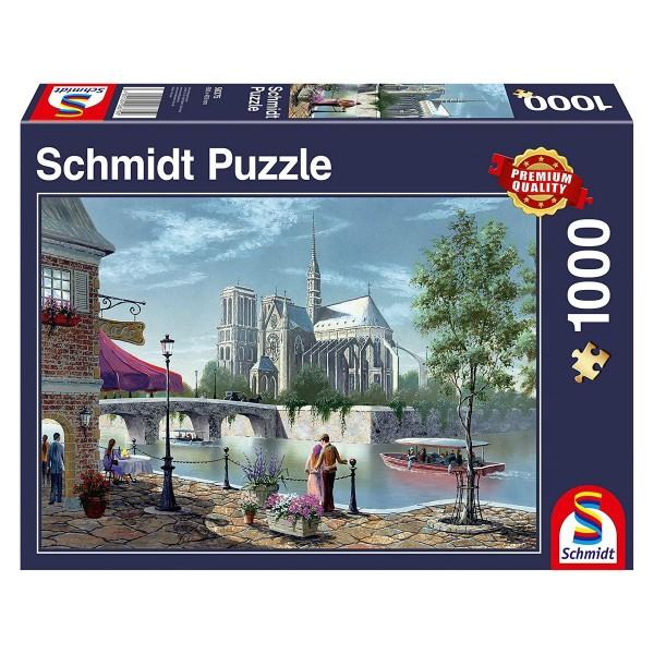 Schmidt 58375 - Premium Quality - Notre-Dame de Paris, 1000 Teile Puzzle