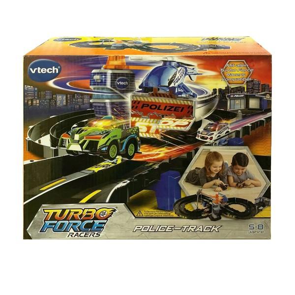V-Tech 80-517904 - Turbo Force Racers - Polizei Fahrbahn; Fahrzeuge nicht enthalten