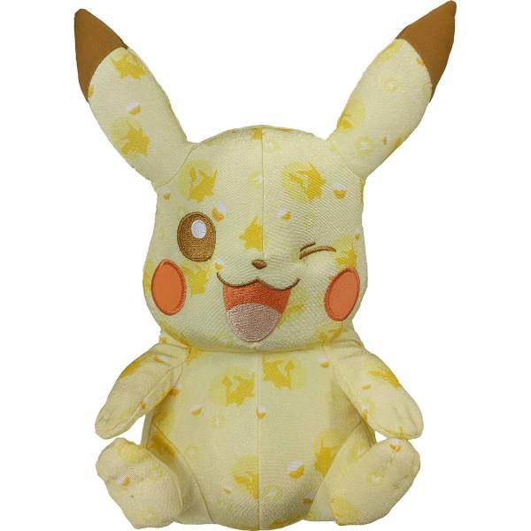 Tomy T18728 2.Wahl - Pokemon - Pikachu, Plüsch, zwinkert