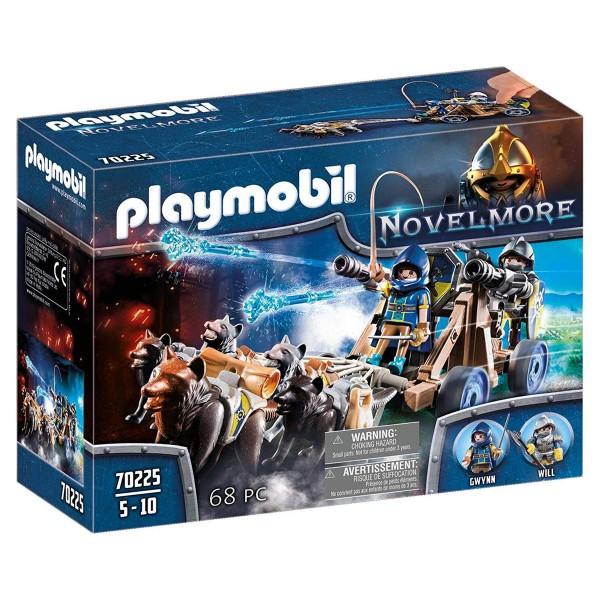 PLAYMOBIL® 70225 - Novelmore - Wolfsgespann und Wasserkanone
