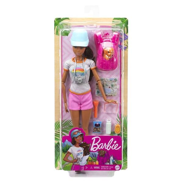 Mattel GRN66 - Barbie - You can be anything - Puppe mit Zubehör, Wanderin