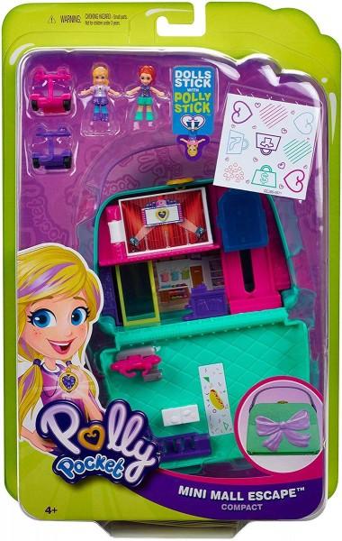 Mattel GCJ86 - Polly Pocket - World Einkaufszentrum Schatulle