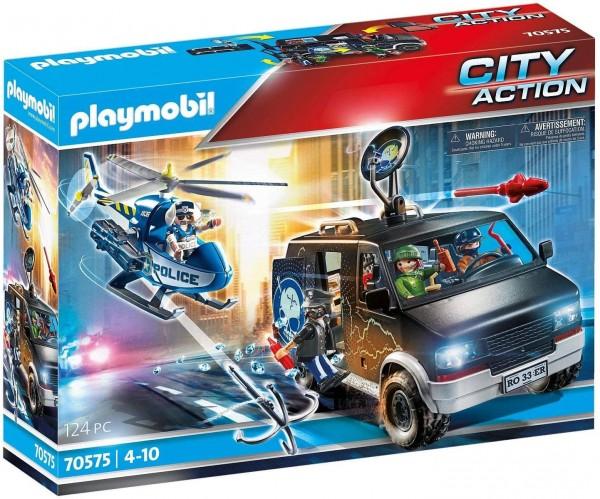 PLAYMOBIL® 70575 - City Action - Polizei-Helikopter: Verfolgung des Fluchtfahrzeugs