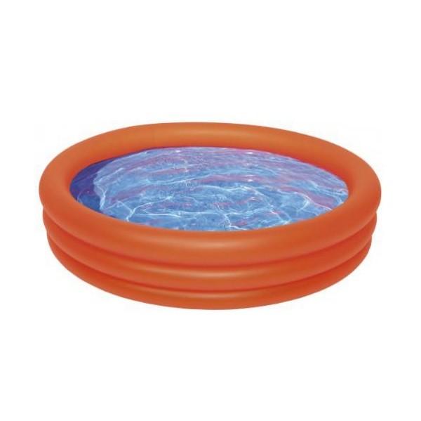 Wehncke 12085 Orange - Planschbecken / Pool 100 x 24cm, Orange