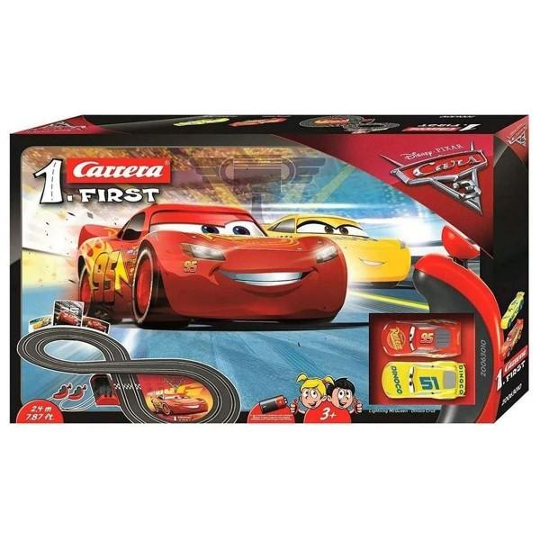 Stadlbauer 20063010 2.Wahl - Carrera 1.First - Disney Pixar Cars 3 - Rennstrecke 2,4 Meter - inkl. 2