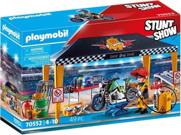 PLAYMOBIL® 70552 - Stuntshow - Werkstattzelt