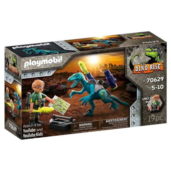PLAYMOBIL® 70629 - Dino Rise - Uncle Rob: Aufrüstung zum Kampf
