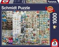 Schmidt 58394 - Premium Quality - Souvenirstand, 1000 Teile Puzzle