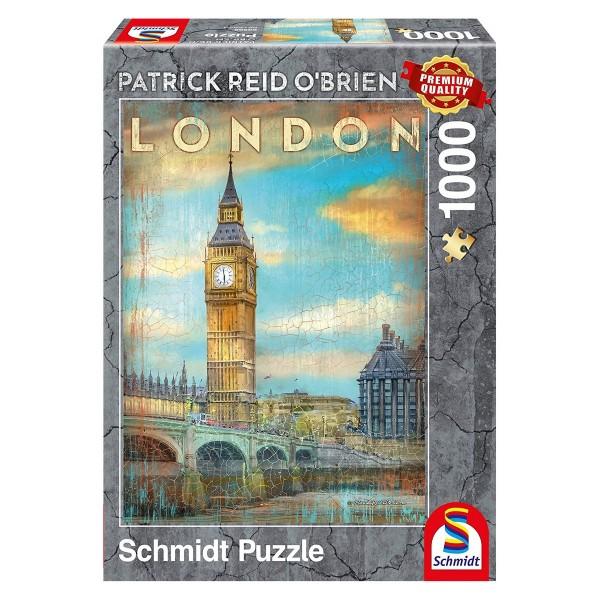 Schmidt 59585 - Premium Quality - Patrick Reid O'Brien - London, 1000 Teile Puzzle