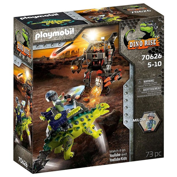 PLAYMOBIL® 70626 - Dino Rise - Saichania: Abwehr des Kampfläufers
