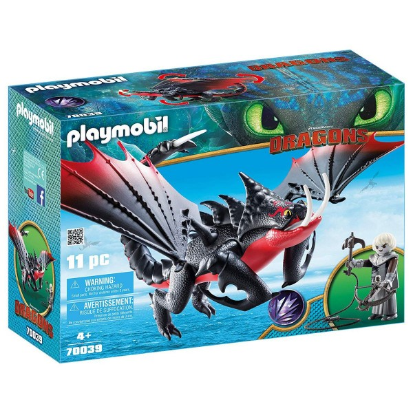PLAYMOBIL® 70039 - Dragons - Deathgripper mit Grimmel