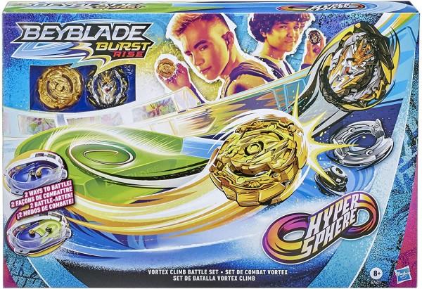 Hasbro E7621 - Beyblade Burst Rise - Hypersphere Vortex Climb Battle Set