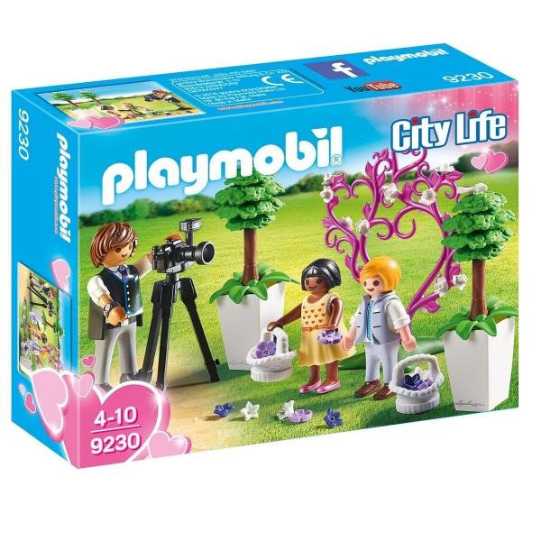 PLAYMOBIL® 9230 - City Life - Spielset, Fotograf mit Blumenkindern