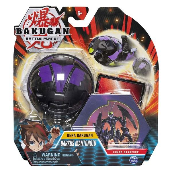 Spin Master 6051238 (20115361) - Bakugan - Deka Bakugan - Darkus Mantonoid, Jumbo Bakucore, 10 cm