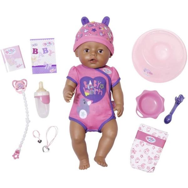 Zapf 826089 - BABY born - Soft Touch Girl Puppe mit Zubehör, 43 cm