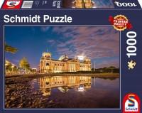 Schmidt 58336 - Premium Quality - Reichstag Berlin, 1000 Teile Puzzle