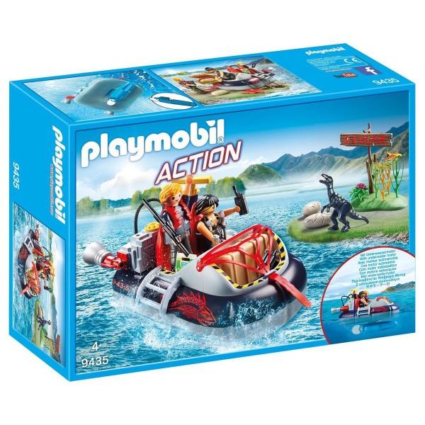 PLAYMOBIL® 9435 - Action - Luftkissenboot mit Unterwassermotor