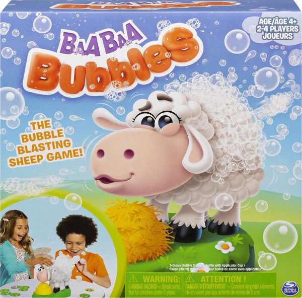 Spin Master 6054455 (20119427) - Games - Baa Baa Bubbles - Seifenblasen - Spiel für die ganze Famili