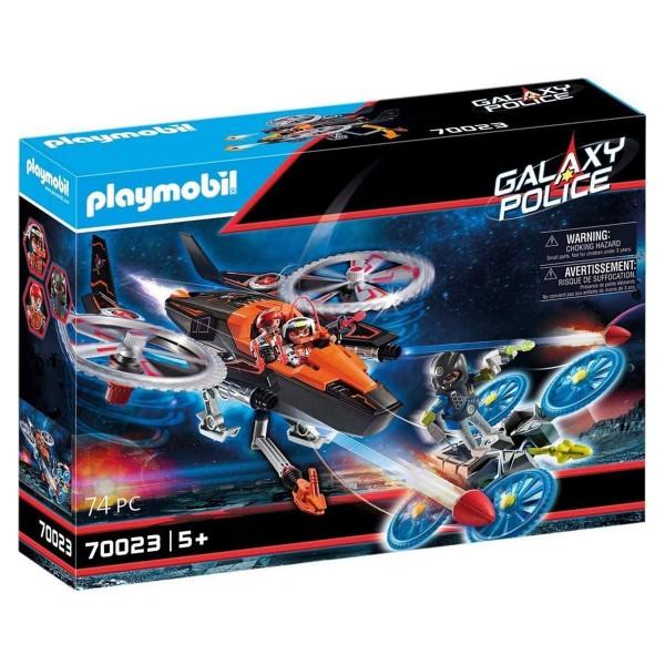 PLAYMOBIL® 70023 - Galaxy Police - Pirates - Heli