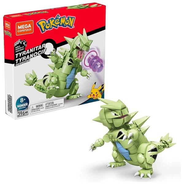 Mattel GMD32 - Mega Blocks - Pokémon - Despotar ca. 15 cm, beweglich