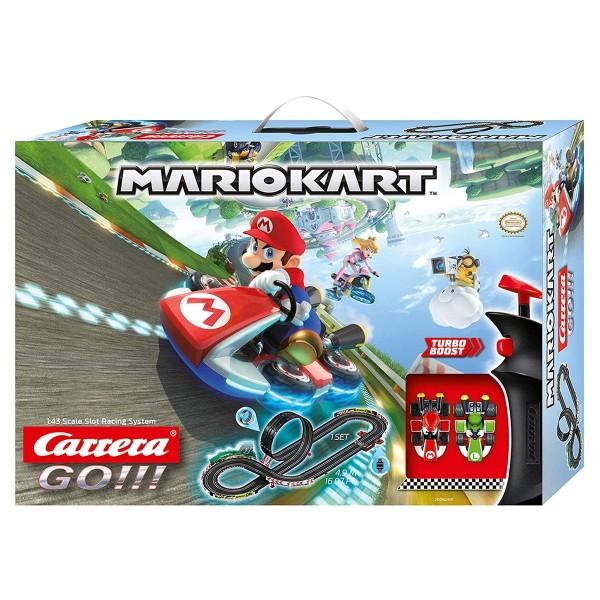 Stadlbauer 20062491 - Carrera Go!!! - Mario Kart - Rennstrecke 4,9 Meter inkl. 2 Fahrzeugen (Mario &