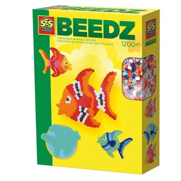 SES 00755 - Bügelperlen Fische