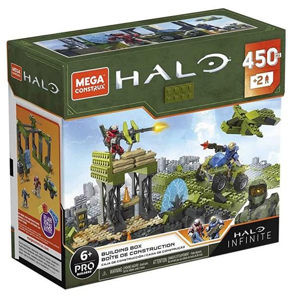 Mattel GPT03 - Mega Construx - Pro Builders - HALO Infinite - Building Box, 450 Bausteine