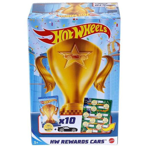 Mattel GWN97 - Hot Wheels - Fahrzeuge in Blindbag, 1:64, 10-er Pack