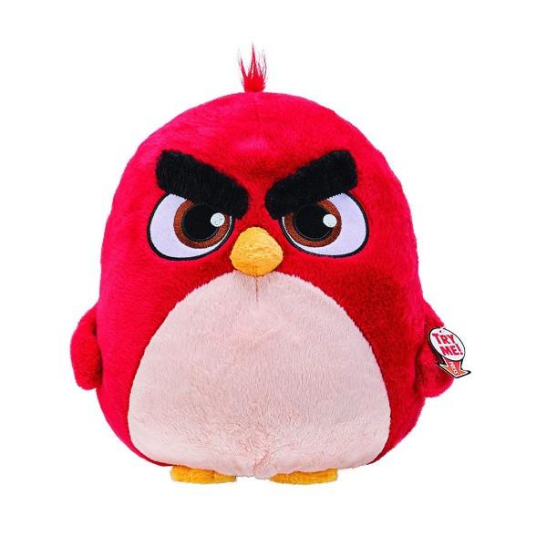 Jazwares ANB0039 - Angry Birds - Red Plüschtier, mit Sound, 23 cm, Roter Vogel