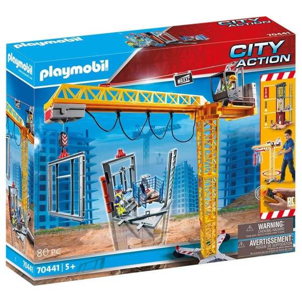 PLAYMOBIL® 70441 - City Action - RC-Baukran mit Bauteil