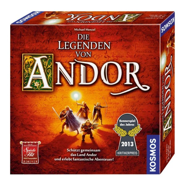 Kosmos 691745 - Die Legenden von Andor, Spiel