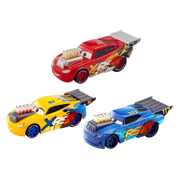 Mattel GHL17 - Disney - Cars - XRS Racing, Fahrzeuge 3er-Pack