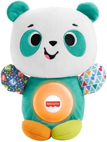 Mattel GRG82 - Fisher-Price - interaktives Spielzeug, Plüsch, BlinkiLinkis Panda