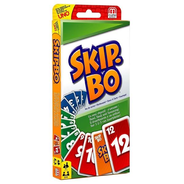 Mattel 52370 - Mattel Games - Kartenspiel, Skip-Bo