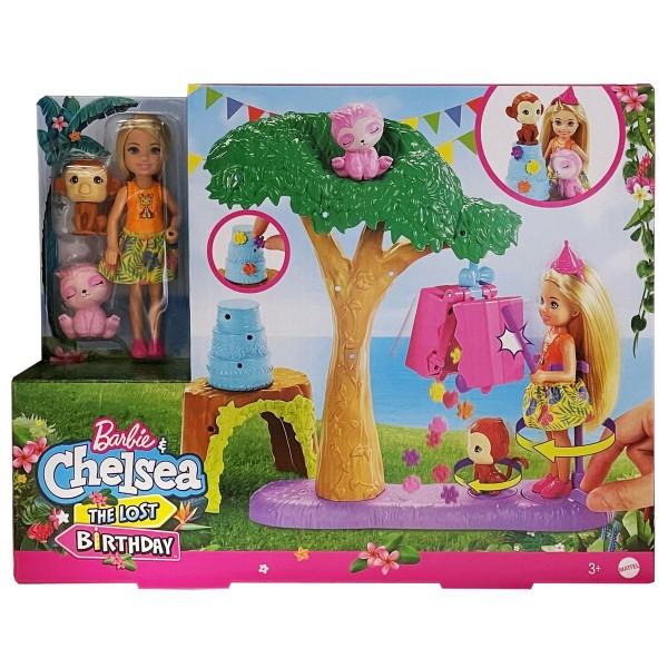 Mattel GTM84 - Barbie - Chelsea - The Lost Birthday - Spielset, Pinataspaß