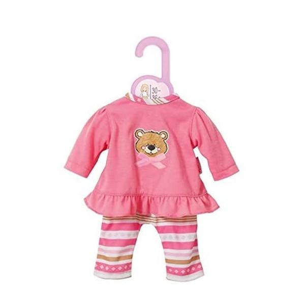 Zapf 870150 - Dolly Moda - Pyjama, Gr. 30-36 cm, Teddy