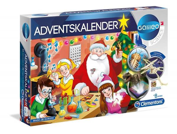 Clementoni 59080 2.Wahl - Galileo Science - Wissenschaft und Spiel, Adventskalender