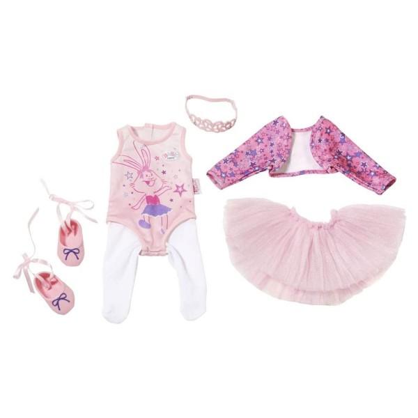 Zapf 825013 - BABY born - Boutique Deluxe, Ballerina Kleidchen, 43 cm
