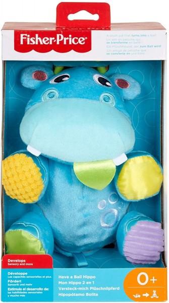 Mattel GFC35 - Fisher Price - Babyspielzeug, Versteck-mich-Plüschnilpferd