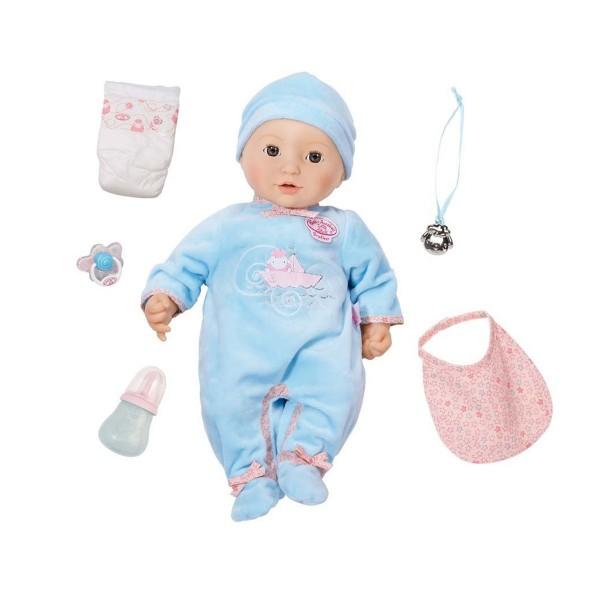Zapf 794654 - Baby Annabell - Puppe, Bruder - Alexander, 43 cm