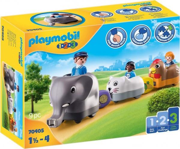 PLAYMOBIL® 70405 - 1•2•3 - Mein Schiebetierzug