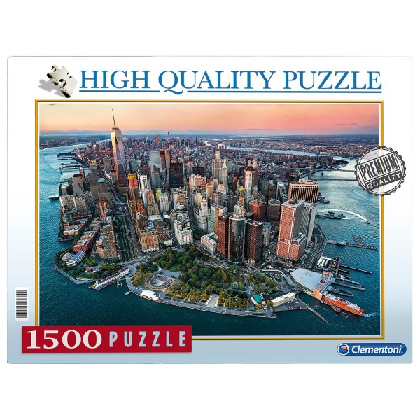 Clementoni 97694 - High Quality Puzzle - New York, 1500 Teile
