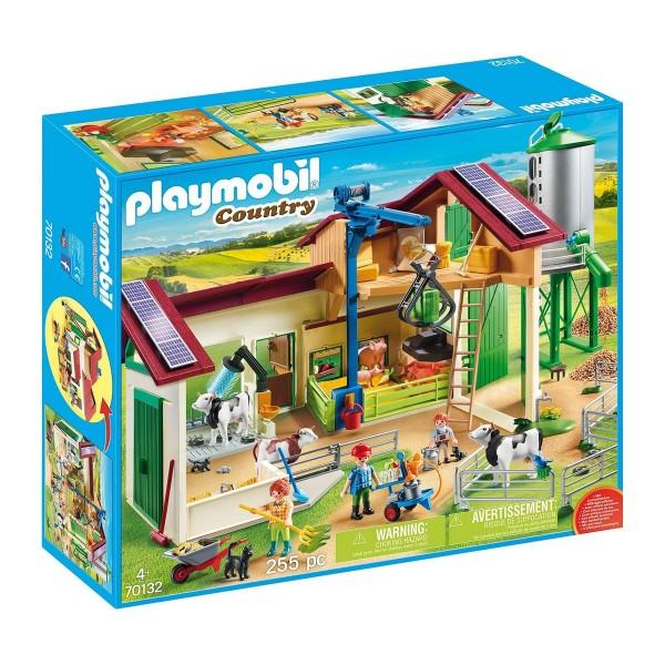 PLAYMOBIL® 70132 - Country - Großer Bauernhof mit Silo