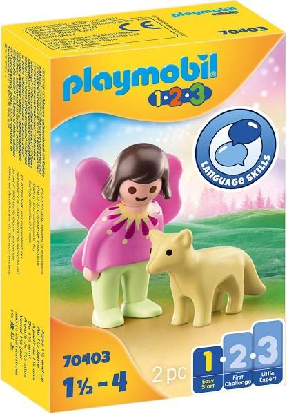 PLAYMOBIL® 70403 - 1•2•3 - Feenfreundin mit Fuchs