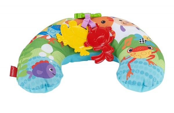 Mattel CDR52 - Fisher-Price - Spielkissen, mit Musik und Vibration, Rainforest