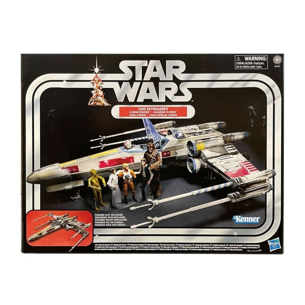 Hasbro E6137 - Kenner - Star Wars - Vintage Collection, Luke Skywalker´s X-Wing Fighter