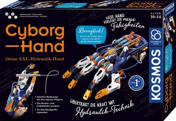 Kosmos 620844 - Cyborg-Hand - hydraulische gesteuerte Roboter-Hand, größenverstellbar, Experimentier