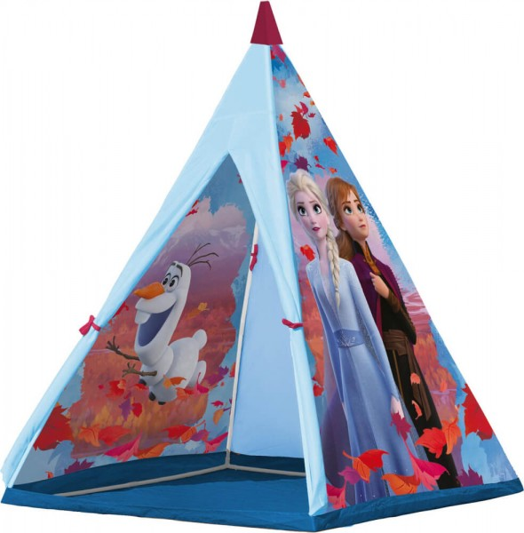 John 75107 - Disney - Frozen II - Die Eiskönigin II - Spielzelt, 100 x 100 x 140 cm, Tipi
