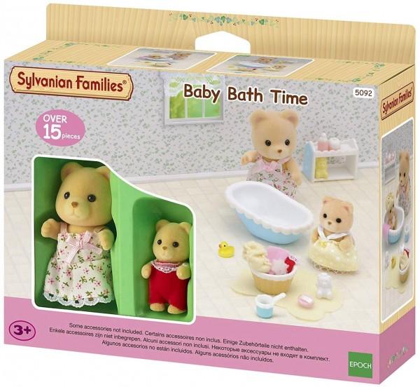 Epoch 5092 (2228) - Sylvanian Families - Baden mit Mutter und Baby