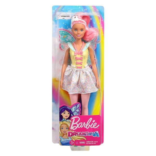 Mattel FXT03 - Barbie Dreamtopia - Fee Puppe, Fairy Doll